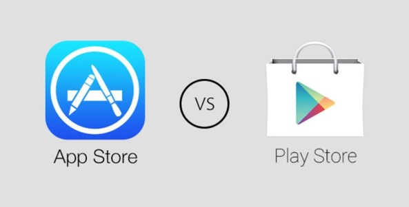 Image result for play store vs ios app store