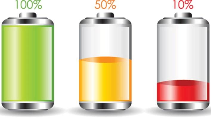 batterie 40 pourcent