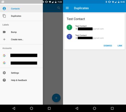 Google Contacts facelift: APK download the new version [Full