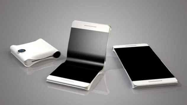 Galaxy Wing smartphone pliant