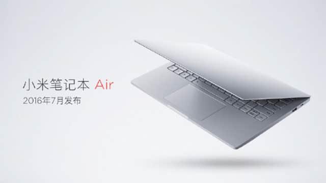 xiaomi mi notebook air 4g fiche technique