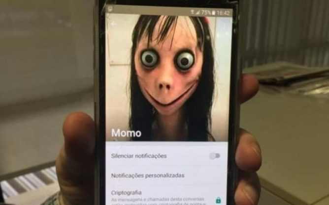 Image result for momo challenge