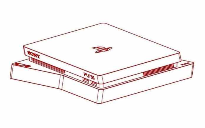 Sony PS5 sketch