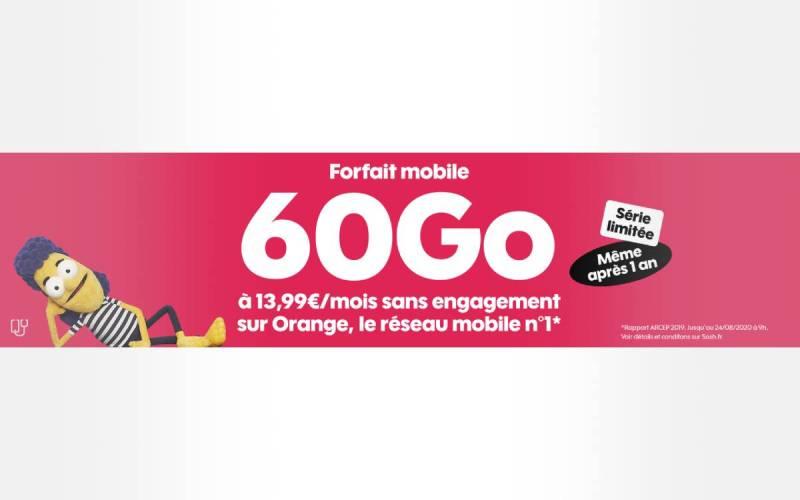 60 GB Sosh package cheap