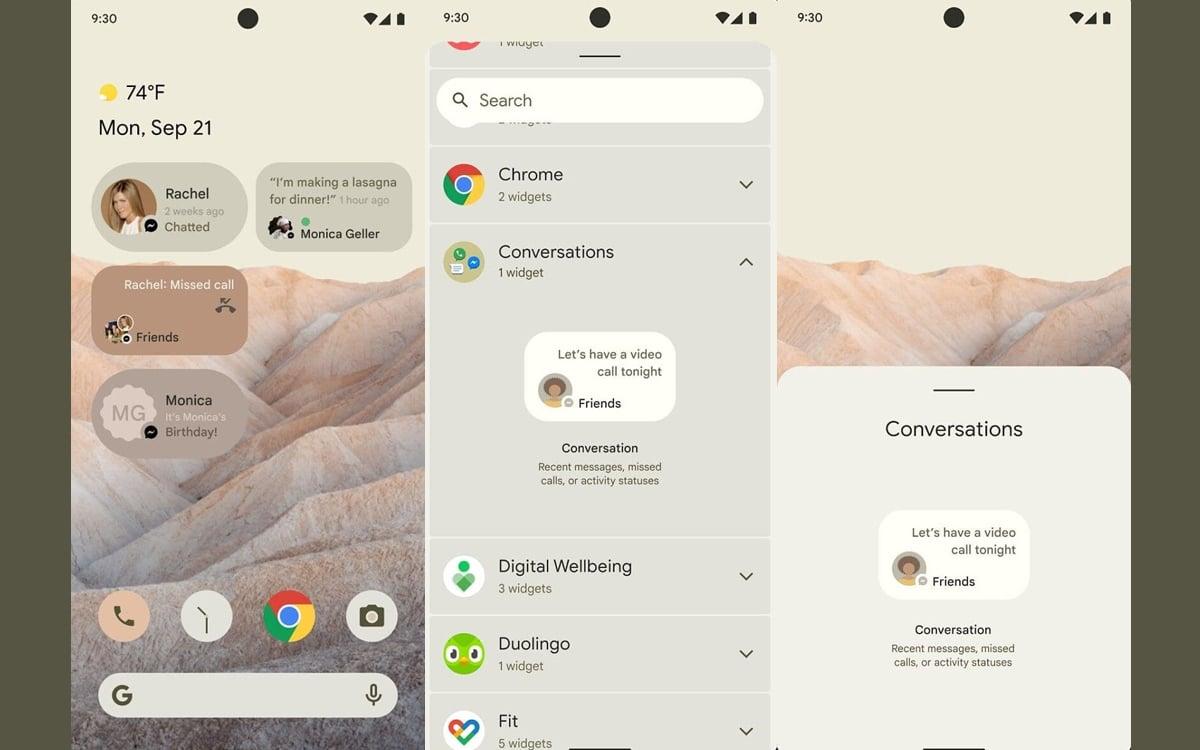 android 12 nouveautés copie