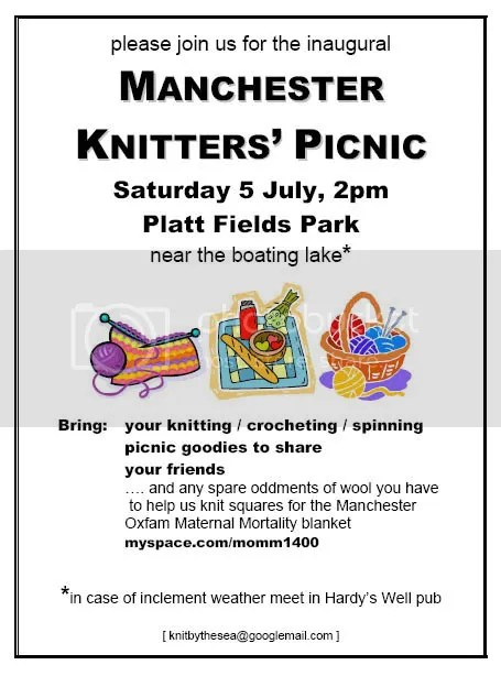 Manchester Knitters' Picnic