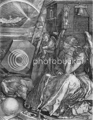 Melancholia I by Albrecht Durer