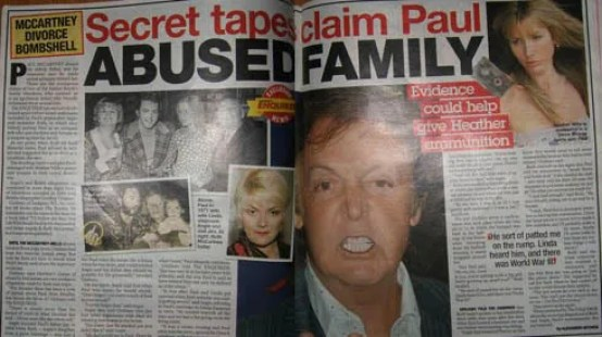 Image result for Paul Mccartney child abuse