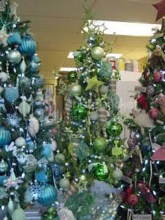 ill post detail pictures of the green tree decor tomorrow here are the details of the turquoise tree