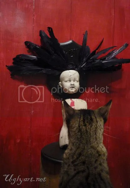 cat,doll,dolls,decay,dolly,ugly,art,art,gothic,surreal,photo,picture