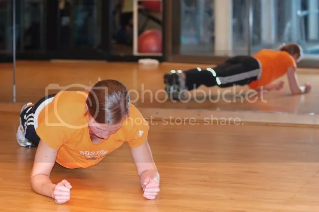 Plank Strengthening the Core Aches & Joints