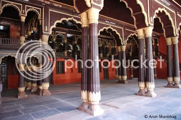 Tipu Sultan's Summer Palace Bengaluru bangalore by Arun Shanbhag
