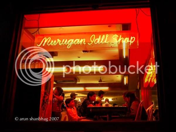 Picture of Masala Dosa at Murugan Idli Shop, Chennai