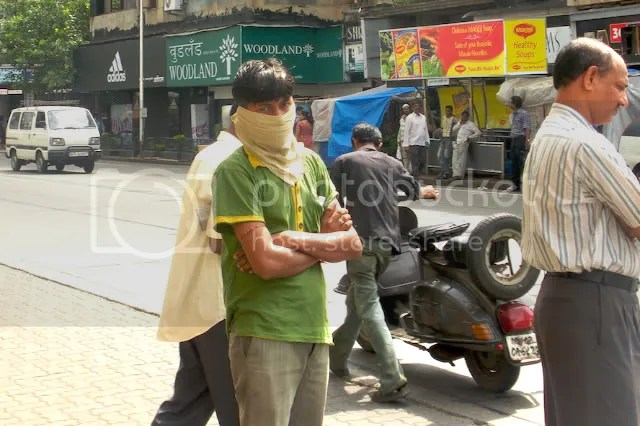 swine flu Mumbai face masks