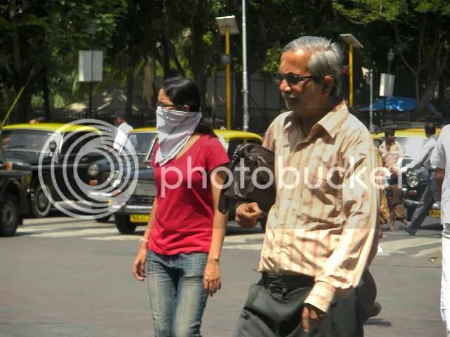 swine flu Mumbai face masks