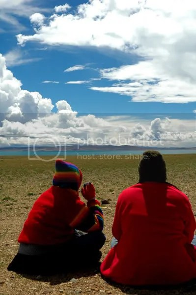 Pictures of Lake Manasarovar Kailash by Arun Shanbhag
