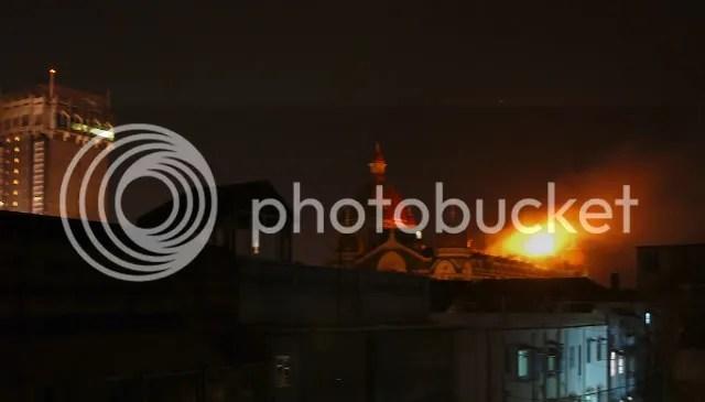 Taj Hotel Dome Fire