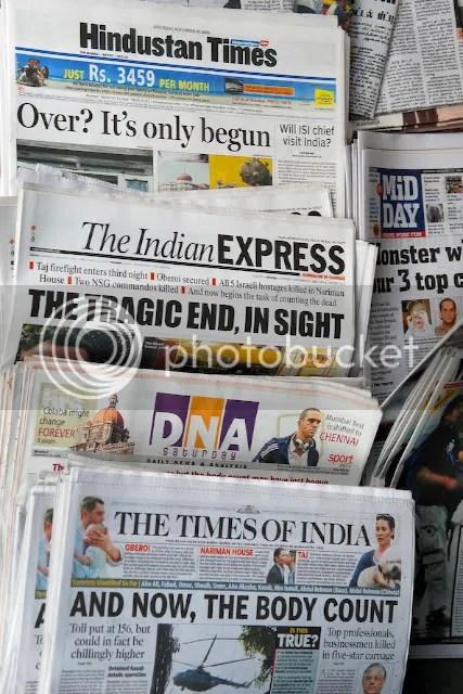 Newspapers on Sale