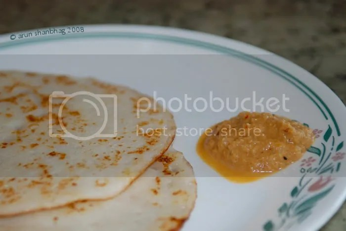 Pics of making Beaten rice crepes or Phova Dosas by Arun Shanbhag