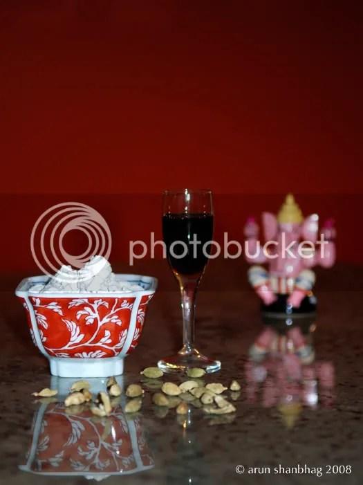 Indian Dessert Arrowroot Pudding