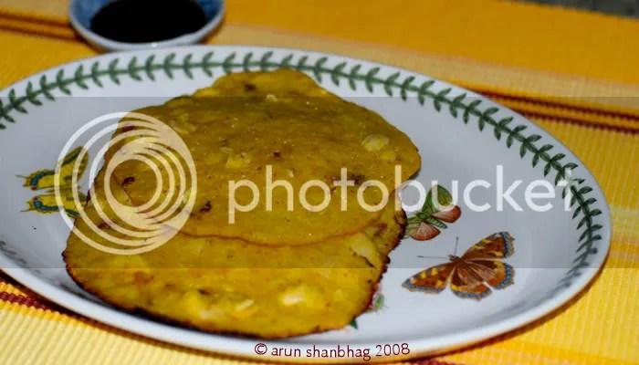 surnoli watermelon rice pancakes pics by Arun Shanbhag