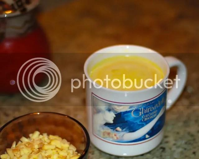 turmeric ginger milk haldi