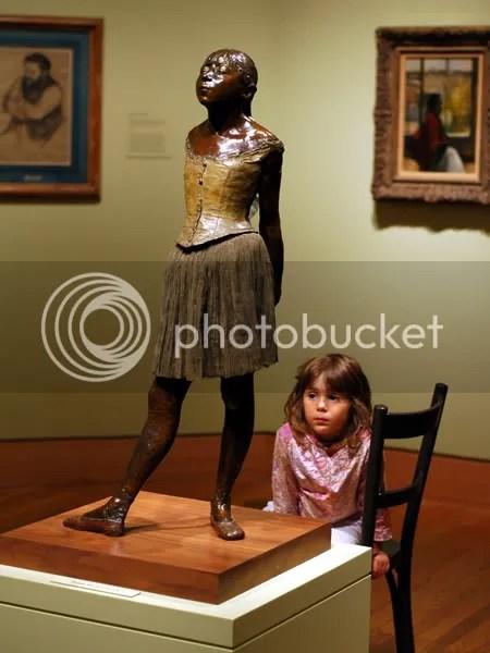 pics of Edgar Degas ballet dancers and bathers at the Harvard Art Museum