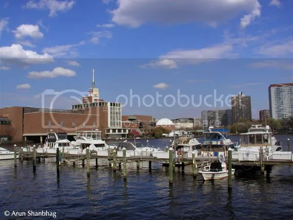 view of the Museum of Science Boston by Arun Shanbhag