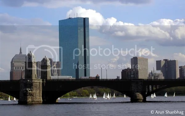 views from around the Charles River, Boston by Arun Shanbhag