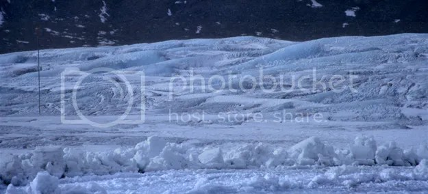 Pics on Athabasca glacier in Columbia Icefields, Alberta, Canada by Arun Shanbhag