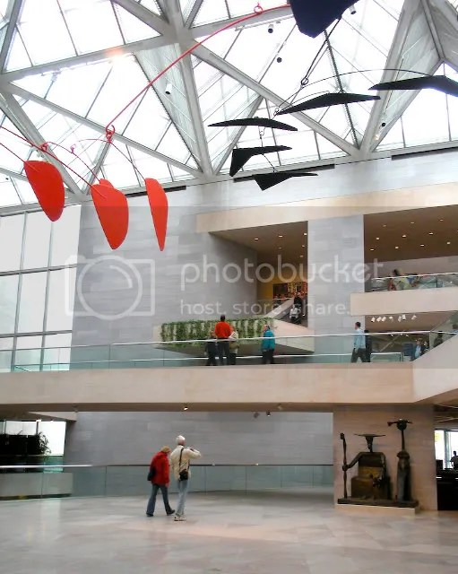 Alexander Calder Mobile in National Gallery Lobby