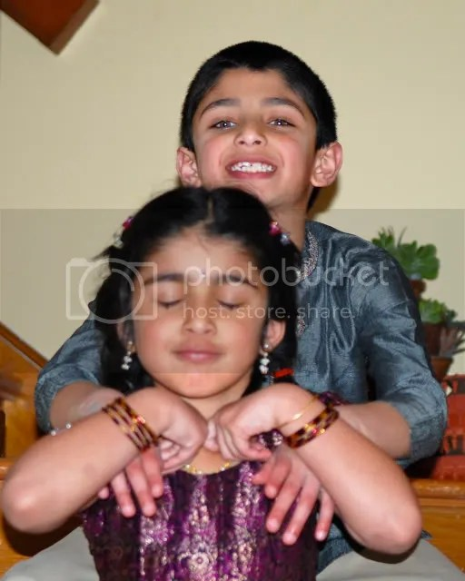 pics of Vibha and Nihalkids by Arun Shanbhag