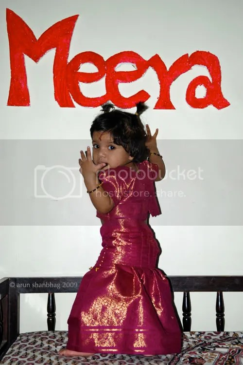 meera in red