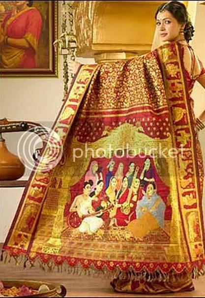 Arun Shanbhag Silk Saree