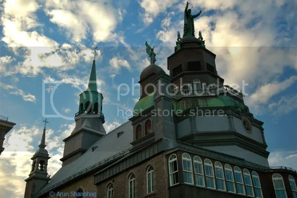 Chapelle Notre Dame de-Bonsecours Montreal Canada pics by Arun Shanbhag