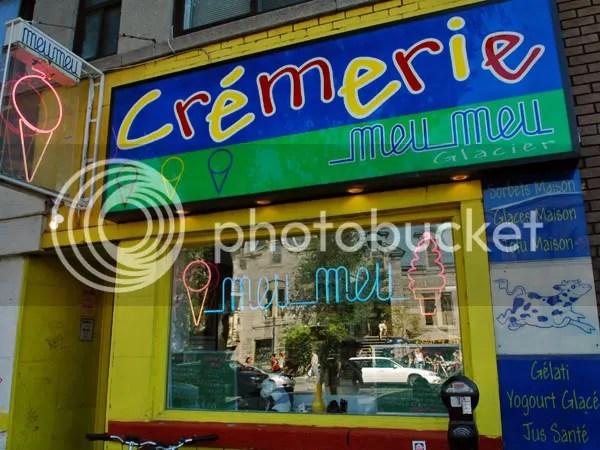 Meu Meu Cremerie in Montreal pics by Arun Shanbhag
