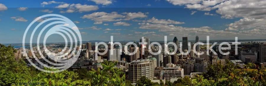 Mont Royal Montreal Canada panorama pics by Arun Shanbhag