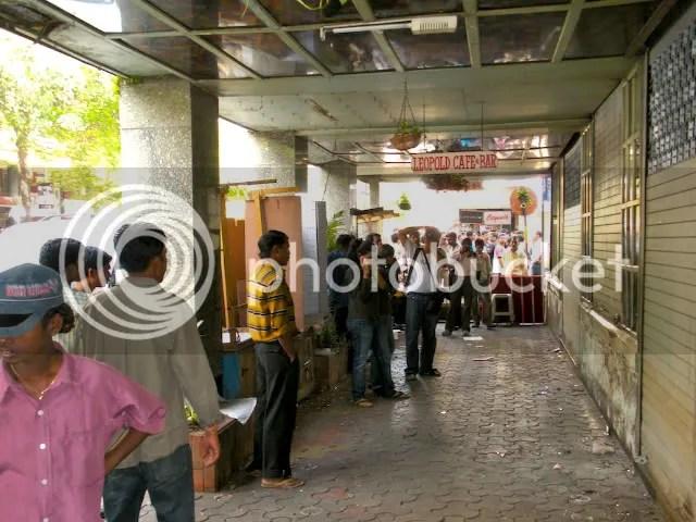 Terrorist Killing Leopold Cafe, Mumbai blasts, 26/11