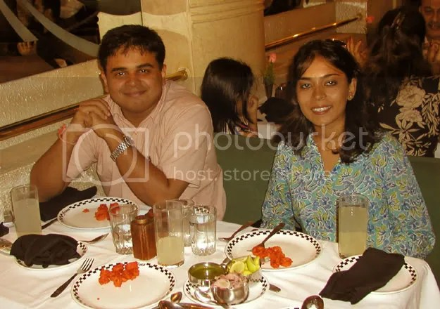 Pictures of LJers Radhika, Vijay Basrur and Deepa George in Mumbai by Arun Shanbhag