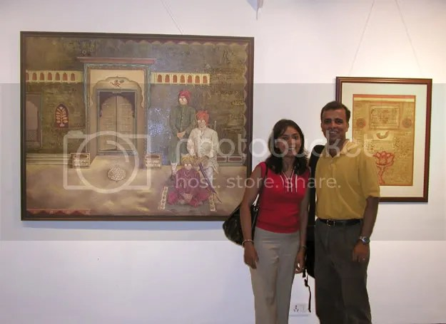 Pictures of LJers Radhika, Vijay Basrur and Deepa George in Mumbai by Arun Shanbhag