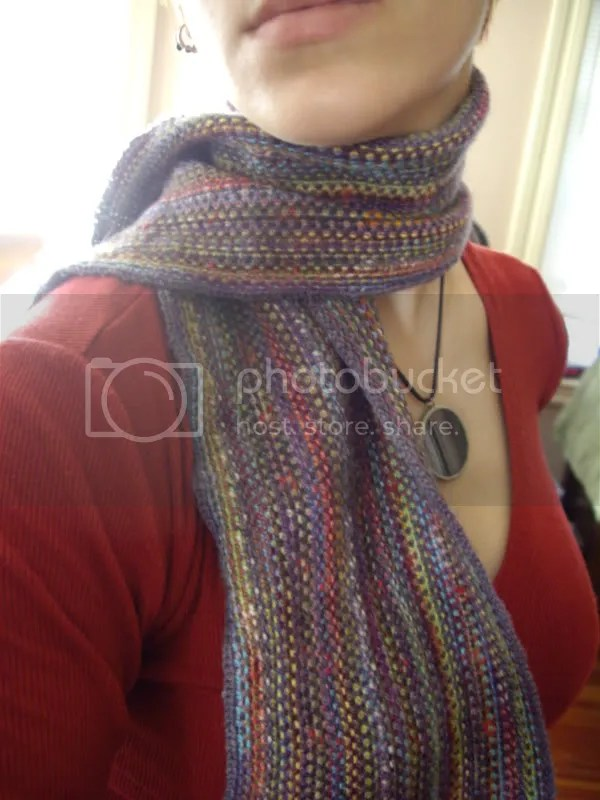 The Technicolor Scrap Scarf