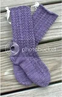 Lenten Rosa Socks