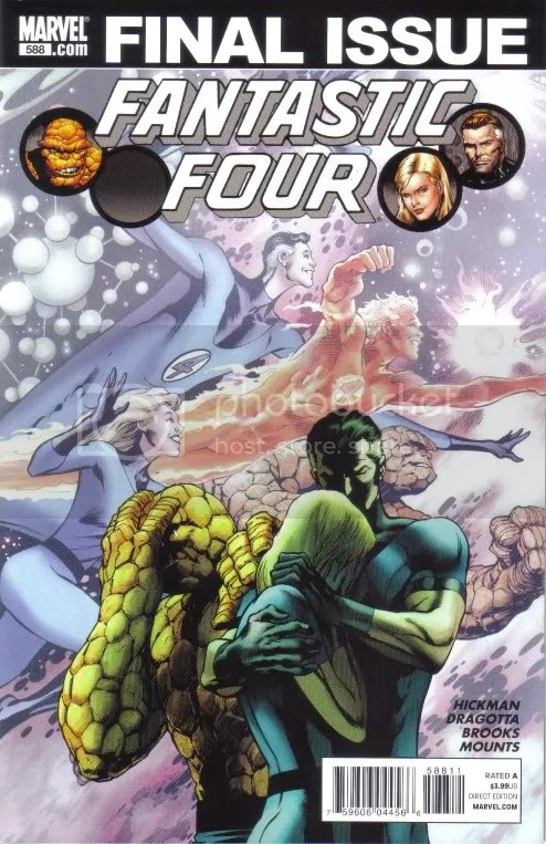 Fantastic Four Final Issue