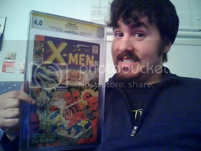 X-Men #15, signed by Stan Lee