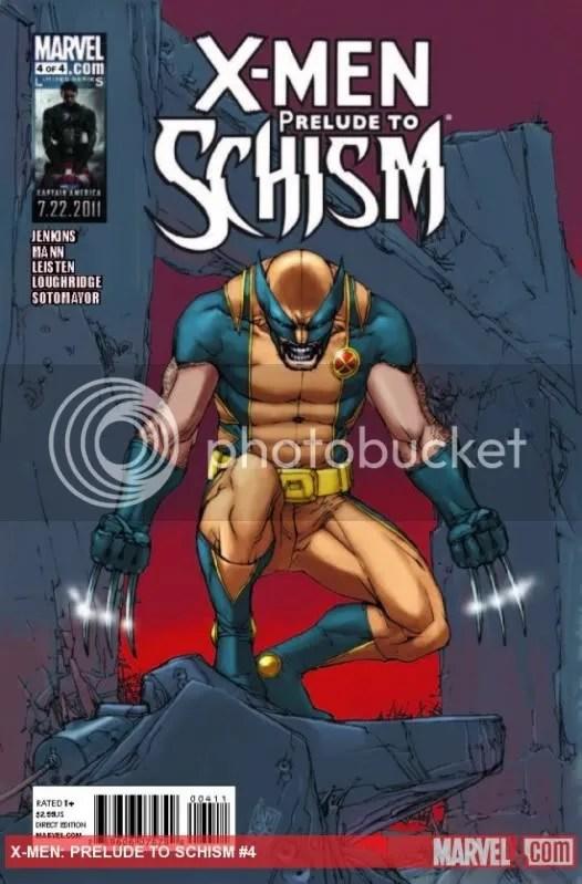 X-Men Schism Prelude