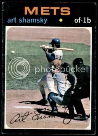 Card of the Day: Art Shamsky 1971 Topps #445