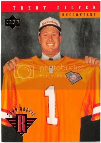 Card of the Day: Trent Dilfer 1994 Upper Deck Star Rookie #17