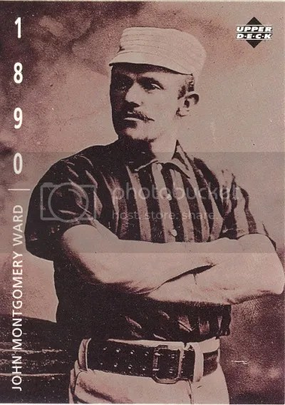 Card of the Day: John Montgomery Ward 1994 Upper Deck Baseball: The American Epic #10