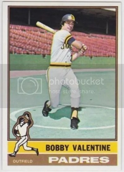 Card of the Day: Bobby Valentine 1976 Topps #366