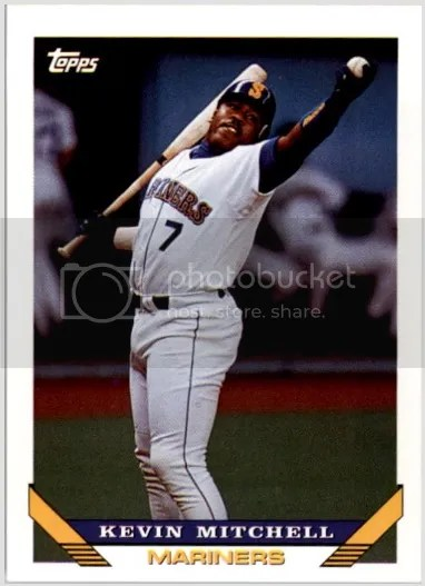 Card of the Day: Kevin Mitchell 1993 Topps #217